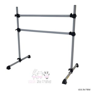 portable barre silver