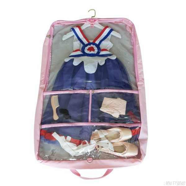 costume bag transparent side
