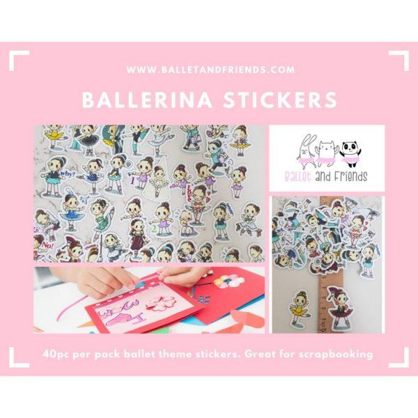 ballet stickers